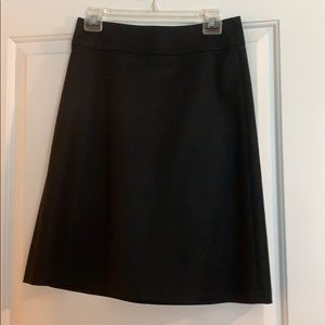 Banana Republic a-line suit skirt